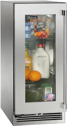 Perlick Signature HP15RS43L Compact Refrigerator Stainless Steel, Main Image