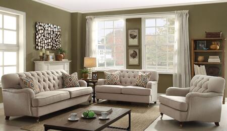 Acme Furniture Alianza Sofa, Loveseat and Chair