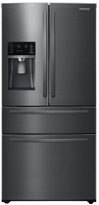 Samsung  RF25HMIDBSG French Door Refrigerator Black Stainless Steel, RF25HMIDBSG 4 Door Refrigerator