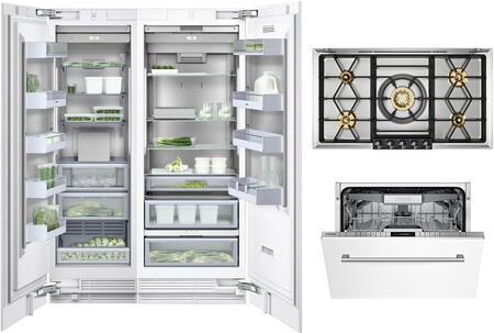 Gaggenau Deals 400 Series 1409154 Kitchen Appliance Package Panel Ready, Main image