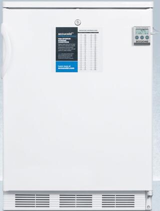 CT66LBIPLUS2 24″ Compact Refrigerator with 5.1 cu. ft. Capacity  Factory Installed Lock  Cycle Defrost and Dual Evaporator Cooling in