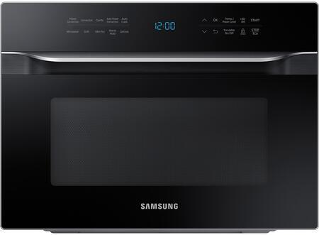 Samsung  MC12J8035CT Countertop Microwave Black, MC12J8035CT AA 001 Front Silver
