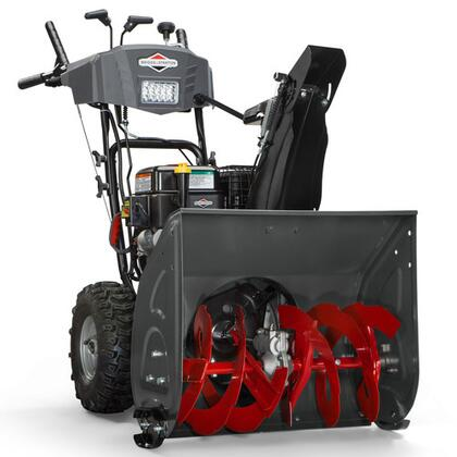 208cc 24″ Dual Stage Medium-Duty Gas Snow Thrower with Electric