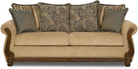 Lane Furniture Outback 811504QEOUTBACKANTIQUE Sofa Bed Brown, Sofa Bed