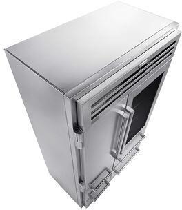 Sub-Zero  9013057 Refrigerator Part Stainless Steel, top panel