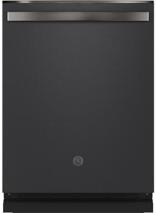 GDT645SFNDS 24″ Fully Integrated Dishwasher with 16 Place Settings  Dry Boost with Fan Assist  Bottle Jets  Wash Zones and AutoSense Cycle in Black