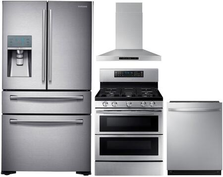 Samsung  1011168 Kitchen Appliance Package Stainless Steel, main image