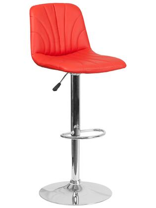 Flash Furniture DS8220 DS8220REDGG Bar Stool Red, DS8220REDGG