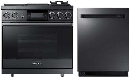 Dacor  937984 Kitchen Appliance Package Graphite Stainless Steel, 1