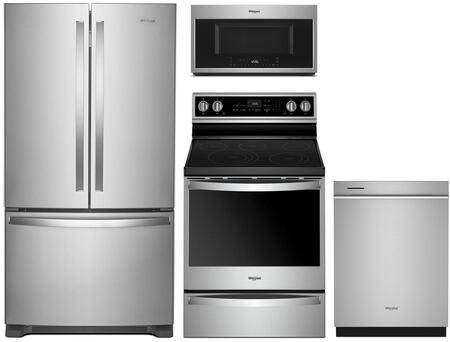 Whirlpool 1127370 Kitchen Appliance Package & Bundle Stainless Steel, main image