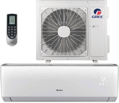 Gree LIVS18HP230V1B 18,000 BTU 16 SEER LIVO+ Wall Mount Ductless Mini Split Air Conditioner Heat Pump 208-230V