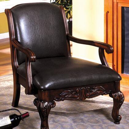 Furniture of America Sheffield CMAC6177PU Accent Chair, image 2348