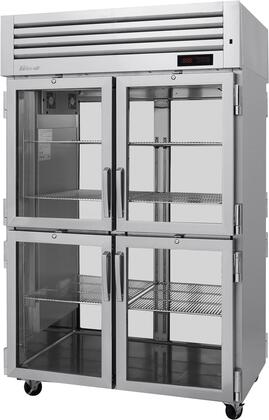 PRO-50-4H-G-PT 52″ Pro Series Glass Half Door Pass-Thru Heated Cabinet with 50.2 cu. ft. Capacity  Digital Temperature Control & Monitor System