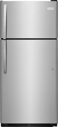 Frigidaire FFTR1821TS Top Freezer Refrigerator Stainless Steel, Main Image