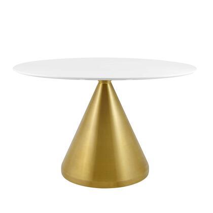Modway Tupelo EEI5338GLDWHI Dining Room Table White, EEI 5338 GLD WHI 1