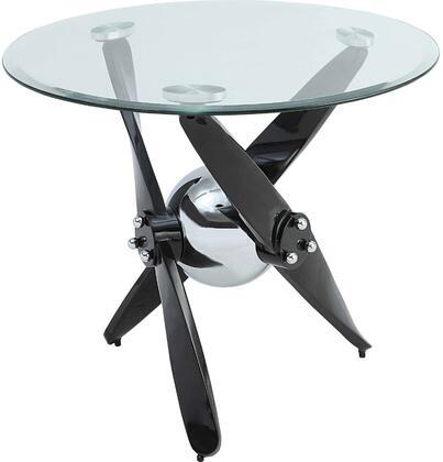 Acme Furniture Hagelin 84532 End Table Black, 1