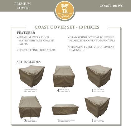 TK Classics COAST10AWC Seat Cover, COAST 10aWC
