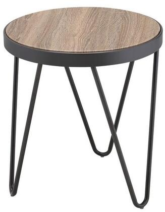 Acme Furniture Bage 81737 End Table Gray, End Table