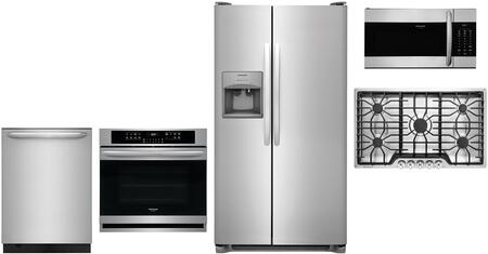 Frigidaire 1123537 Kitchen Appliance Package & Bundle Stainless Steel, main image