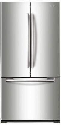 Samsung  RF18HFENBSR French Door Refrigerator Stainless Steel, Main Image