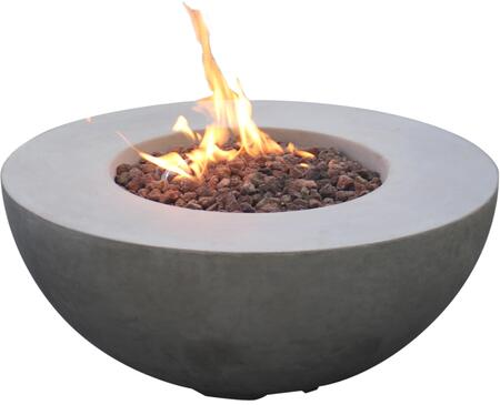 Modeno OFG107LP Outdoor Fire Pit Gray, Main Image