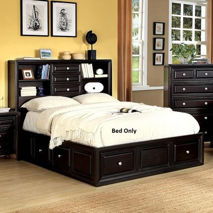 Furniture of America Yorkville CM7059QBED Bed Brown, 1
