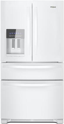 Whirlpool WRX735SDHW French Door Refrigerator White, Main Image
