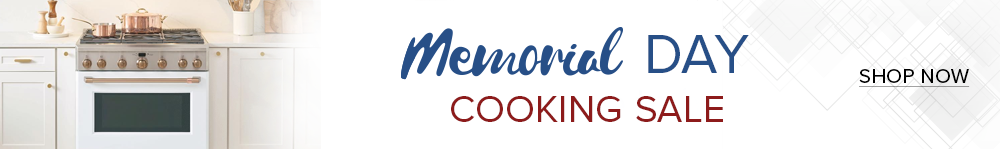 Memorial Day Cooking Appliances Sale