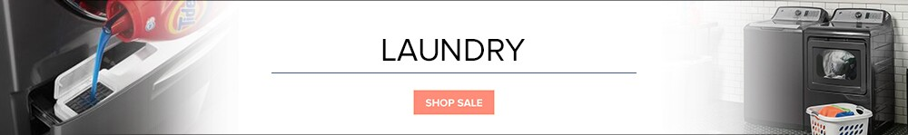 Spring Renovation Sale On Laundry