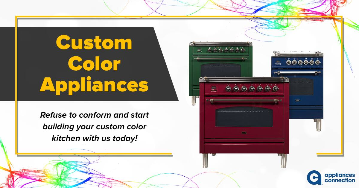 Custom Color Appliances: Featured Image