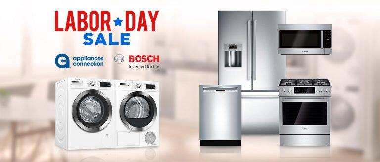 Bosch Labor Day Savings At Appliances Connection Appliances Connection