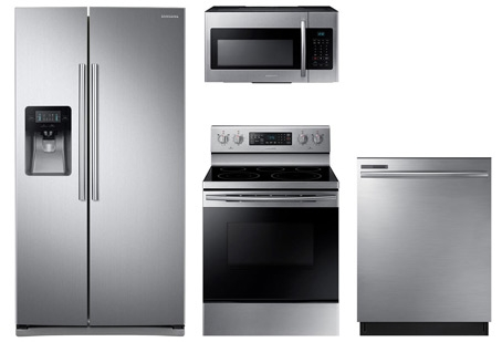 Samsung Stainless Side by Side Suite