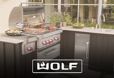 Build Your Wolf Grill Package