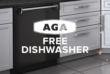 AGA Free Dishwasher Offer