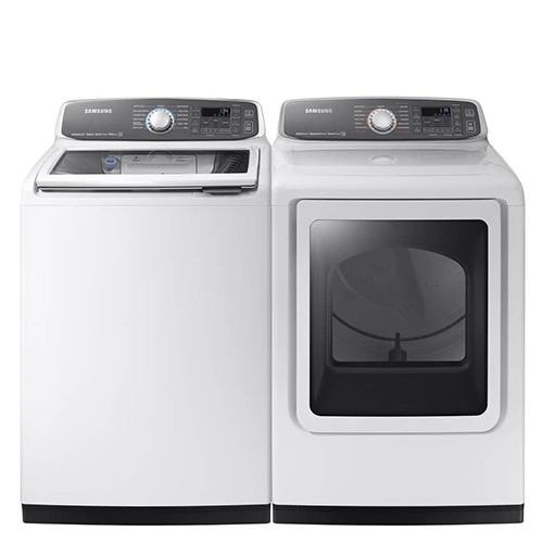 Samsung Top Load HE Laundry Pair