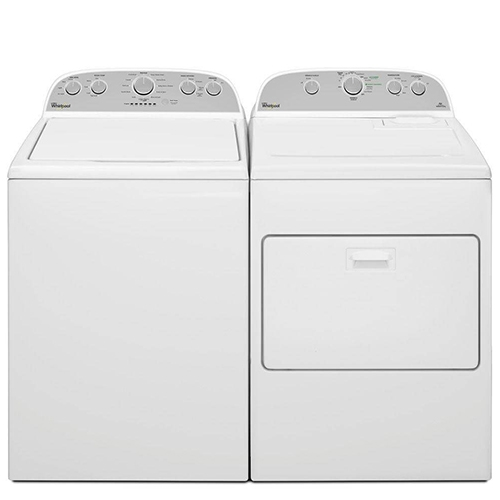 Whirlpool Top Load Laundry Pair