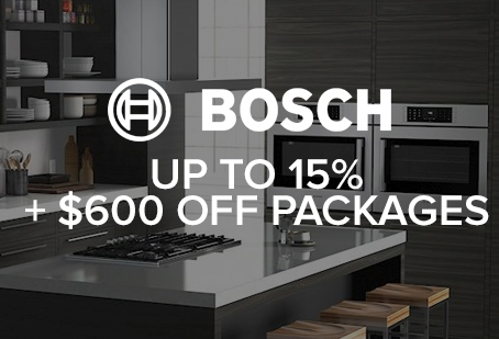 Bosch Appliance Rebate Offer