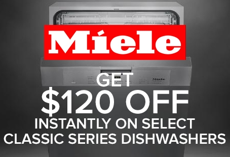 Miele Dishwasher Instant Offer