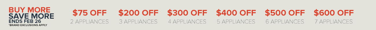 Closeout Appliances