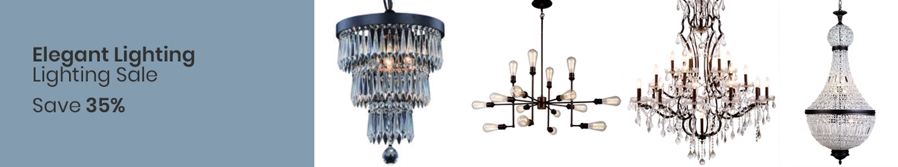 Spring Deal Elegant Lighting Lighting