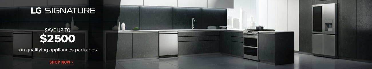 LG Signature Washer/Dryer Combos