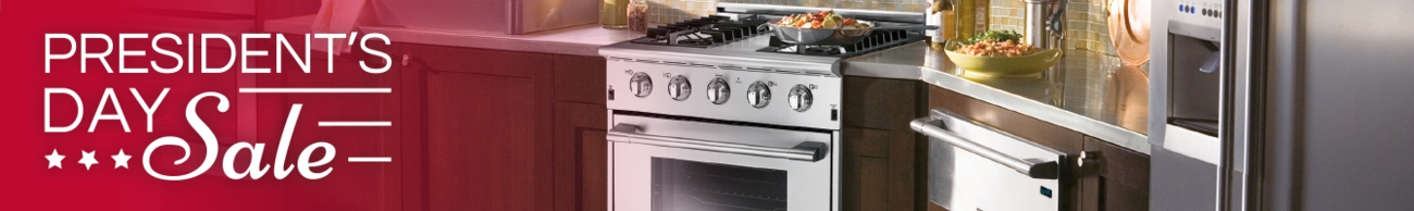 Presidents Day Sale Frigidaire Appliances