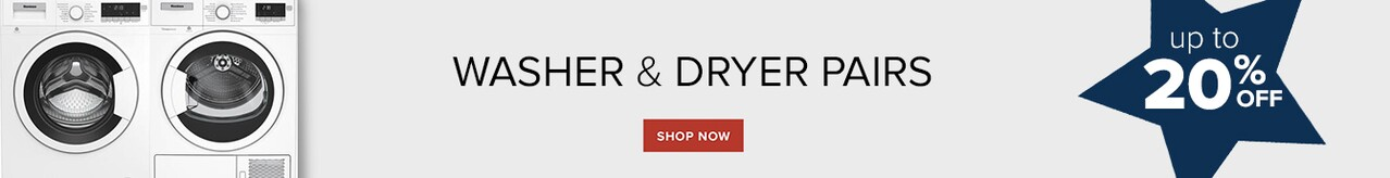 Washer & Dryer Pairs Shop Now