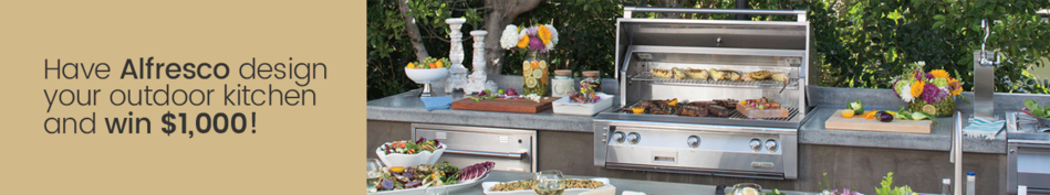 Have Alfresco Design Your Outdoor Kitchen and Win $1,000!