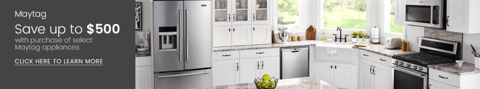 Maytag - Save Up to $500 on select Maytag Kitchen Appliances