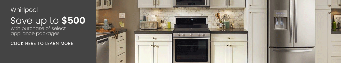 Whirlpool - Save Up to $500 with Purchase of Select Appliance Package