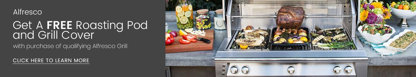 Alfresco Free Gift with Grill Purchase