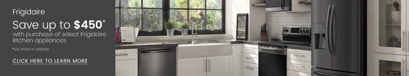 Frigidaire - Save Up to $450 With Purchase of Select Frigidaire Kitchen Appliances