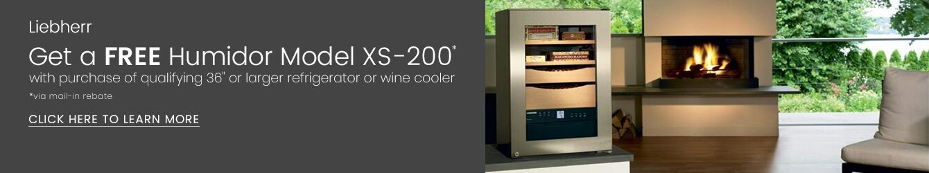 Liebherr - Free Humidor Model XS-200 with Purchase of Refrigerator or Wine Cooler via Mail-In Rebate