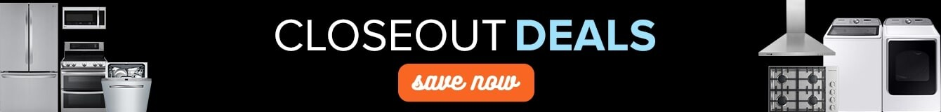 closeout deals, save now